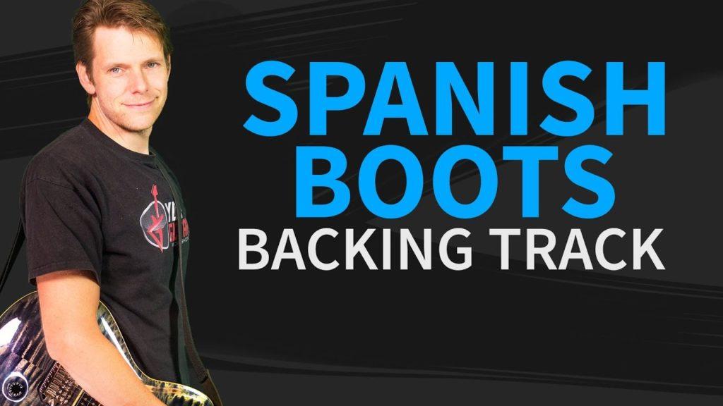 Spanish boots joe bonamassa backing track