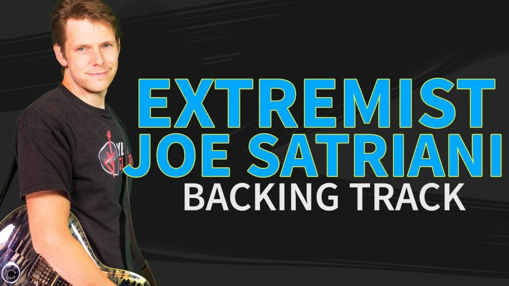 The Extremist Joe Satriani Backing Track