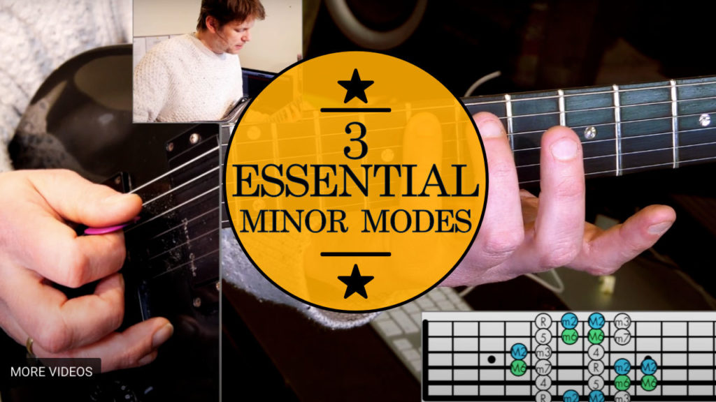 Learn how to play 3 minor modes found in John Mayer Guitar Solos. Aeolian mode or natural minor scale, Dorian mode and Phrygian mode.