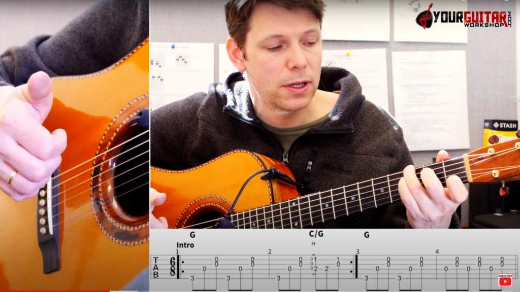ed sheeran perfect guitar lesson acoustic version
