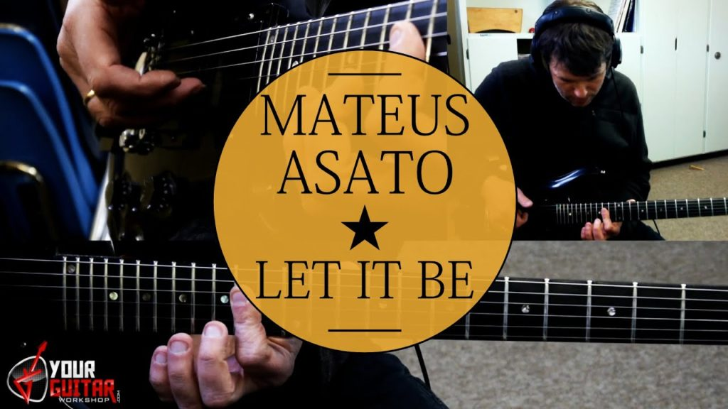 Learn how to play: Mateus Asato Let It Be Guitar Lesson. Comprehensive step by step tutorial with Tablature available on my patreon page.