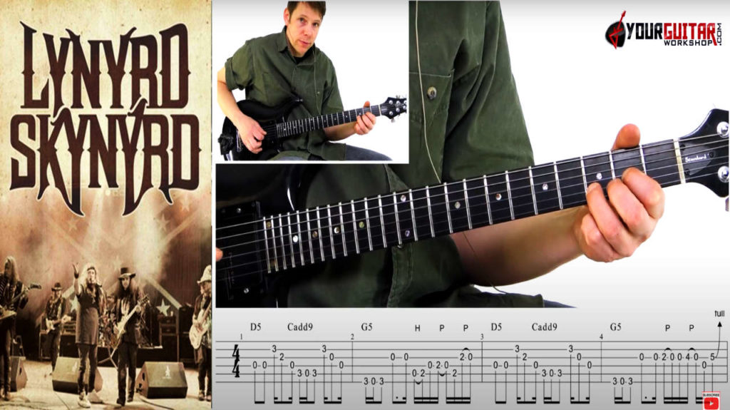 Learn how to play guitar. Lynyrd Skynyrd Sweet Home Alabama Guitar Lesson. Easy step by step tutorial with tablature available for patrons.