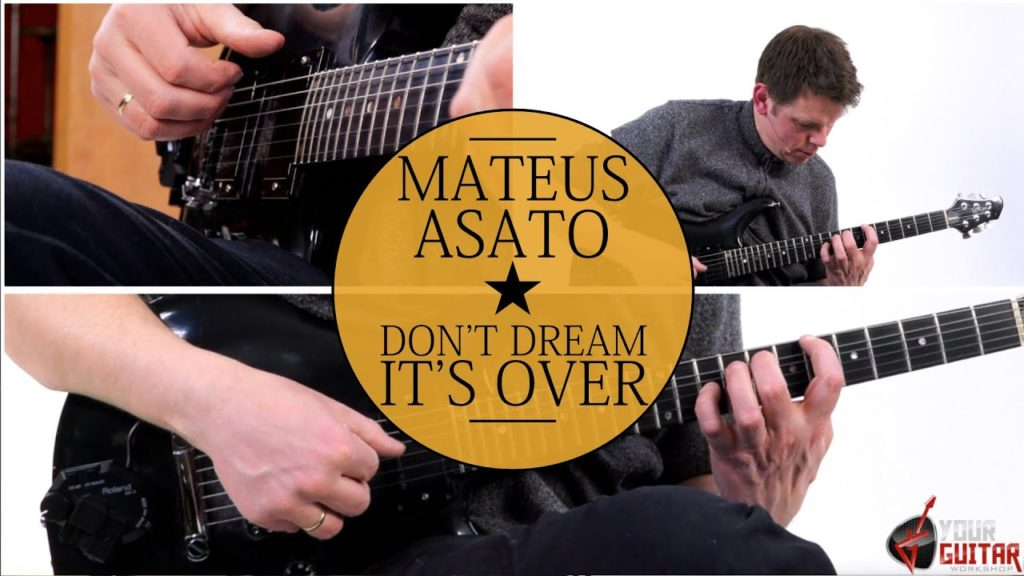 Learn how to play: Don't Dream It's Over Mateus Asato Guitar Lesson. Easy step by step tutorial. Tablature is available on my patreon page.