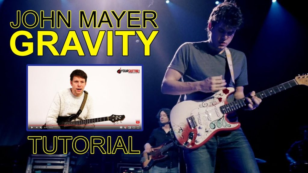 "Learn how to play guitar. John Mayer Gravity Guitar Lesson ""Where The Light Is - Live in LA"" Easy, step by step tutorial & tablature."