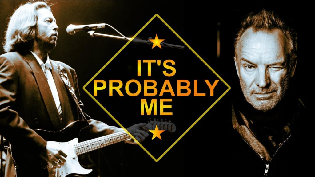 Learn how to play: Sting and Eric Clapton It's Probably Me Guitar Tutorial. Easy step by step tutorial. Tab is available on my patreon page.