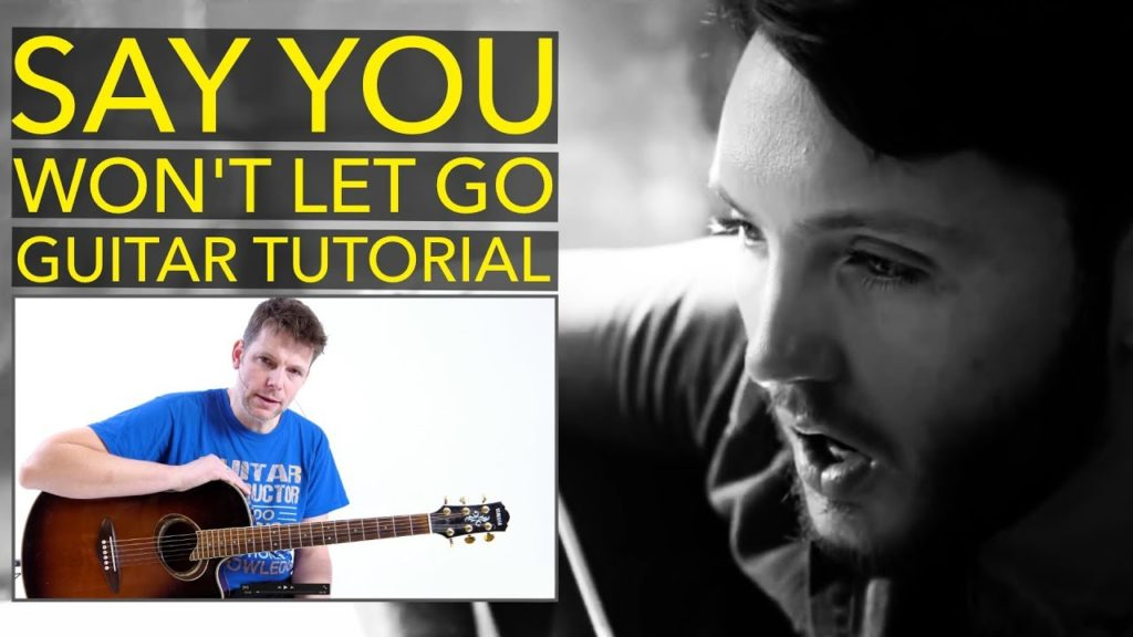 Learn how to play Say You Won't Let Go by James Arthur with this easy step by step guitar lesson.