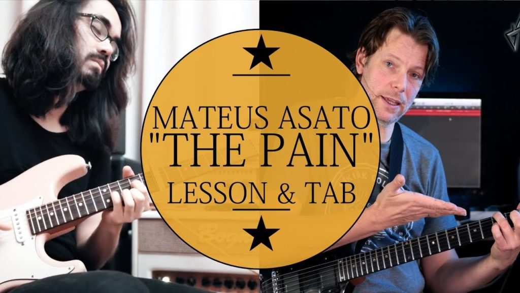 Learn how to play The Pain Mateus Asato Guitar Lesson. This tutorial includes tablature and step by step instruction.