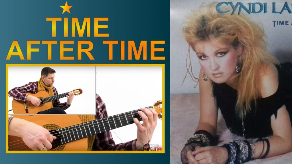 Learn how to play Time After Time by Cyndi Lauper with this easy step by step fingerstyle guitar lesson. Tab is available on my patreon page.
