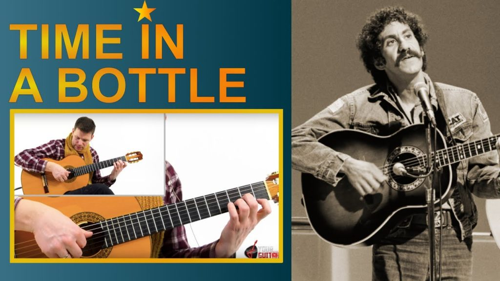 Learn how to play: Jim Croce Time In A Bottle Guitar Lesson. Easy step by step tutorial. Tab is available on my patreon page.