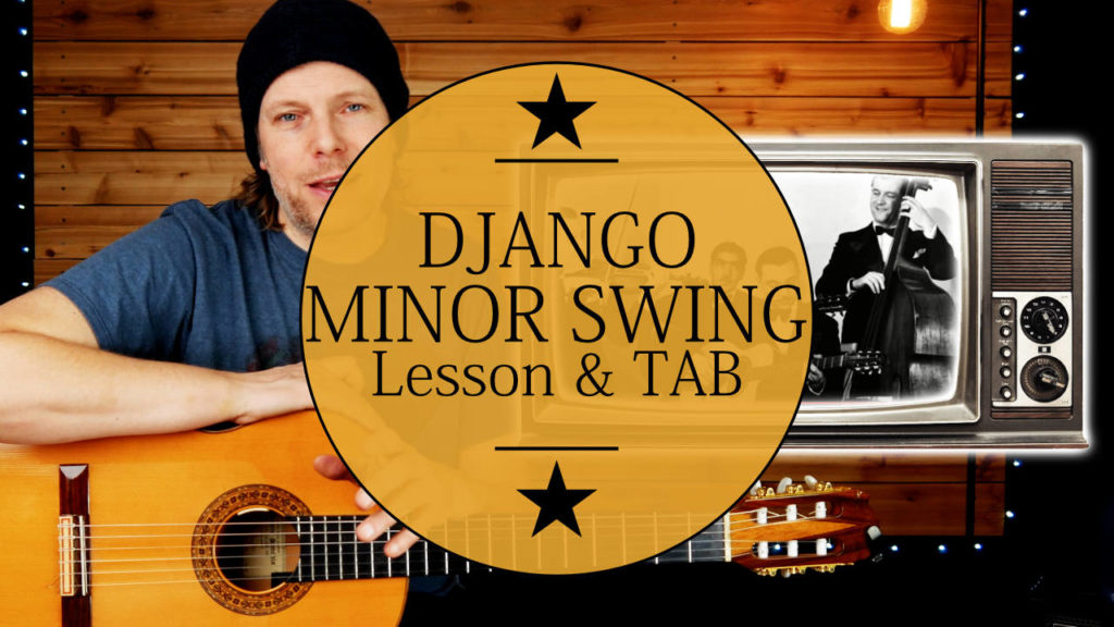 Learn how to play Gypsy Jazz! Django Reinhardt Minor Swing Guitar Tutorial. In this lesson you'll learn the django reinhardt guitar solo and...