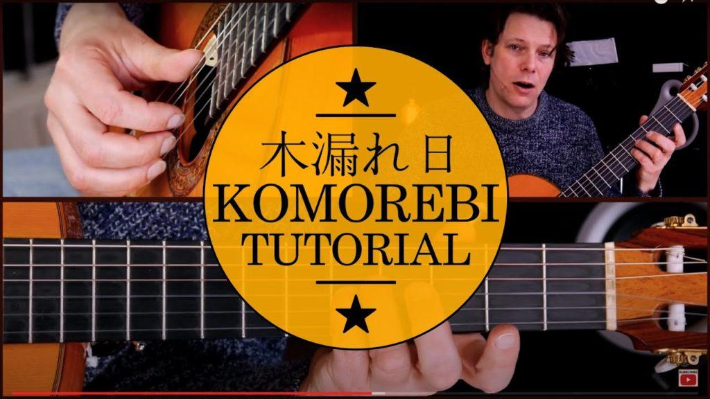 komorebi mateus asato 木漏れ日 guitar tutorial